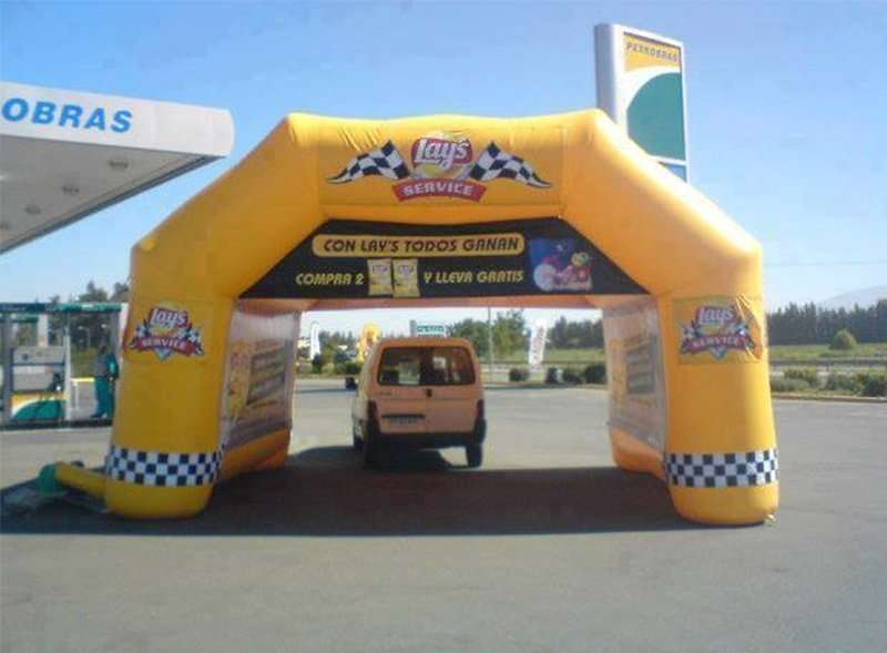 stand inflable fanricado en Chile 3